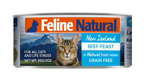 Feline Natural Canned - Beef Feast