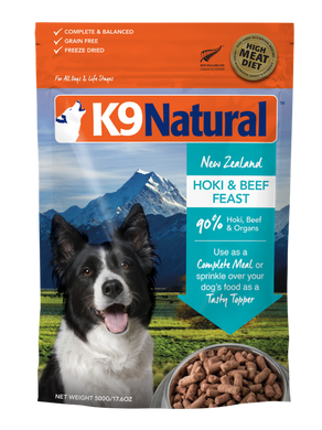 K9 Natural Freeze Dried - Hoki & Beef