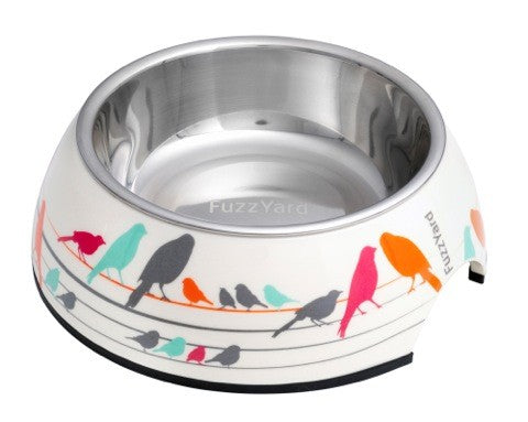 Birds in the Hood Melamine Bowl