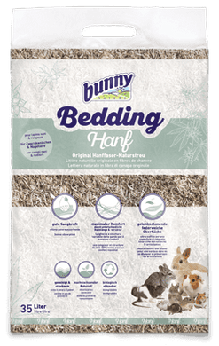 Bunny Nature - BunnyBedding Hanf (Hemp) 35L