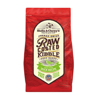 Cage-Free Duck Raw Coated Kibble - 22lb