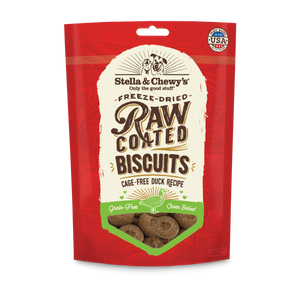 Cage-Free Duck Raw Coated Biscuits