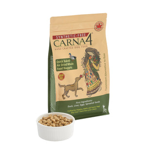 Carna4 - Quick Baked Air Dried Grain-Free Duck Dry Dog Food