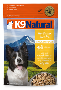 K9 Natural Freeze Dried - Chicken (500g)