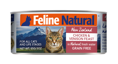 Feline Natural Canned - Chicken & Venison