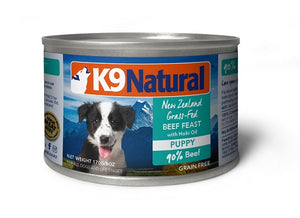 K9 Natural Canned - Puppy (Beef & Hoki Oil)