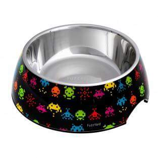 Space Raiders Easy Feeder Bowl