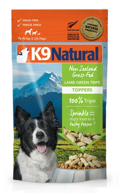 K9 Natural Freeze Dried - Lamb Green Tripe Topper