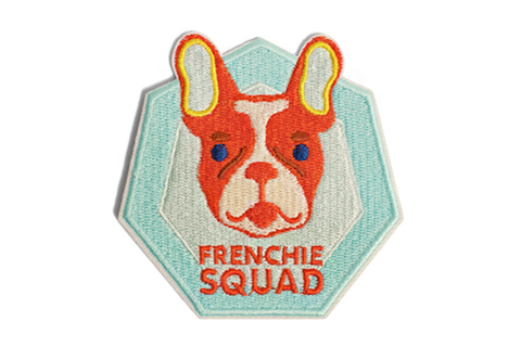 Frenchie Squad Patch