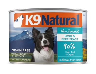 K9 Natural Canned - Hoki & Beef
