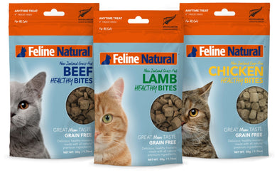 Feline Natural Healthy Bites (Bundle Deal)