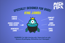 King Jambo Painted Canvas Toy