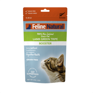 Feline Natural Freeze Dried - Lamb Green Tripe Booster