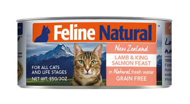 Feline Natural Canned - Lamb & King Salmon