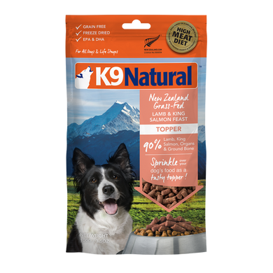 K9 Natural Freeze Dried - Lamb & Salmon Toppers