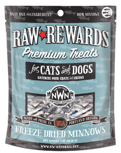 Northwest Naturals Freeze Dried Minnows Cat & Dog Treats - 1oz