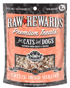 Northwest Naturals Freeze Dried Shrimp Cat & Dog Treats - 1oz