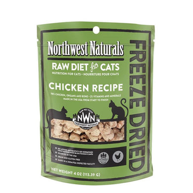 Northwest Naturals Chicken Freeze Dried Nibbles (for Cat) - 4oz & 11oz