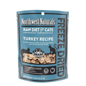 Northwest Naturals Turkey Freeze Dried Nibbles (for Cat) - 4oz & 11oz