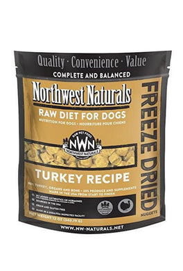 Northwest Naturals Turkey Freeze Dried Dog Nuggets - 12oz