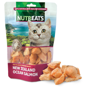 NuTreats - Ocean Salmon Bites (for Cats)