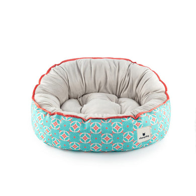Ohpopdog Reversible Bed - Straits Mint 17