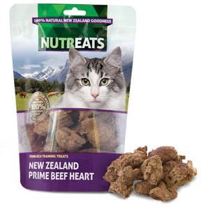 NuTreats - Beef Heart (for Cats)