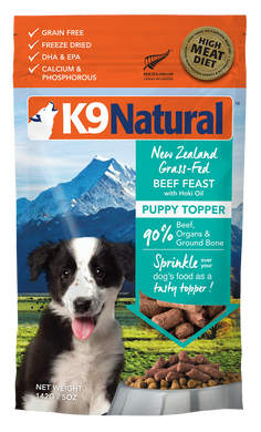 K9 Natural Freeze Dried - Puppy Beef & Hoki Toppers
