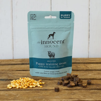 The Innocent Hound - Puppy Training Treats - Lamb with Yellow Split Pea
