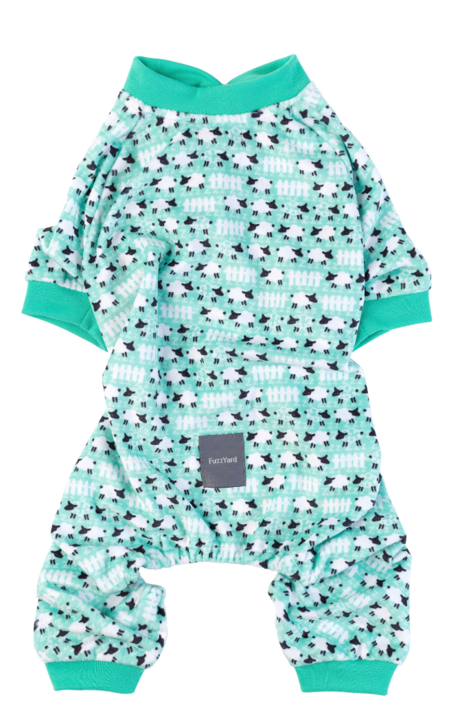 Counting Sheep Green Pyjamas