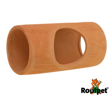 Rodipet® EasyClean TERRA Ceramic Tube 20cm with Side Entrance