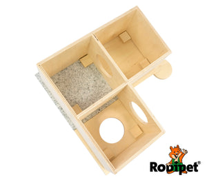 Rodipet® +GRANiT House MADiNA duoporta for Pet Rodents