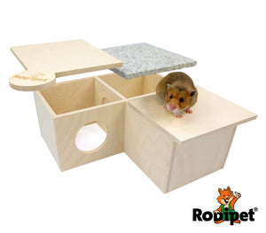 Rodipet® +GRANiT House MADiNA monoporta for Pet Rodents
