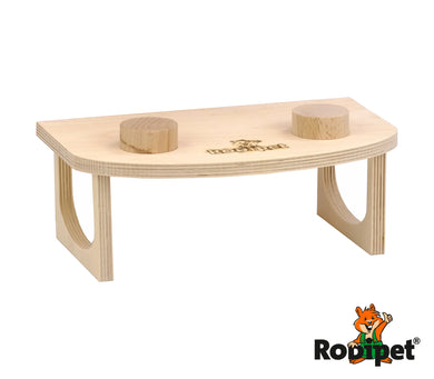 Rodipet® Pedestal for Super Silent Cork Exercise Wheels
