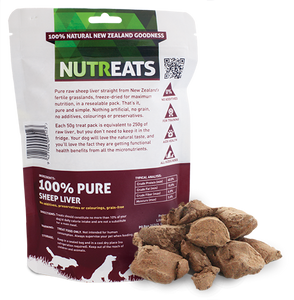 NuTreats - Sheep Liver (for Dogs)