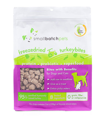 Freeze Dried SmallBites - Turkey