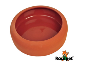 Terracotta Sand Bathing Bowl 13cm
