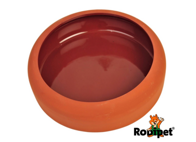 Terracotta Sand Bathing Bowl 16cm
