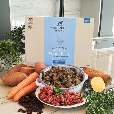 The Innocent Hound - Gourmet British Duck Air-dried Complete Food