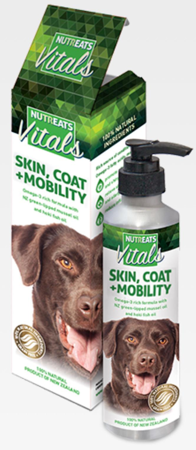 NuTreats - Vital Skin, Coat & Mobility Oil