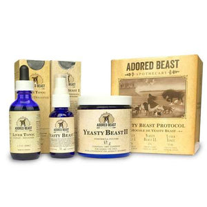 Adored Beast - Yeasty Beast Protocol (3 Product Kit) for DOGS only