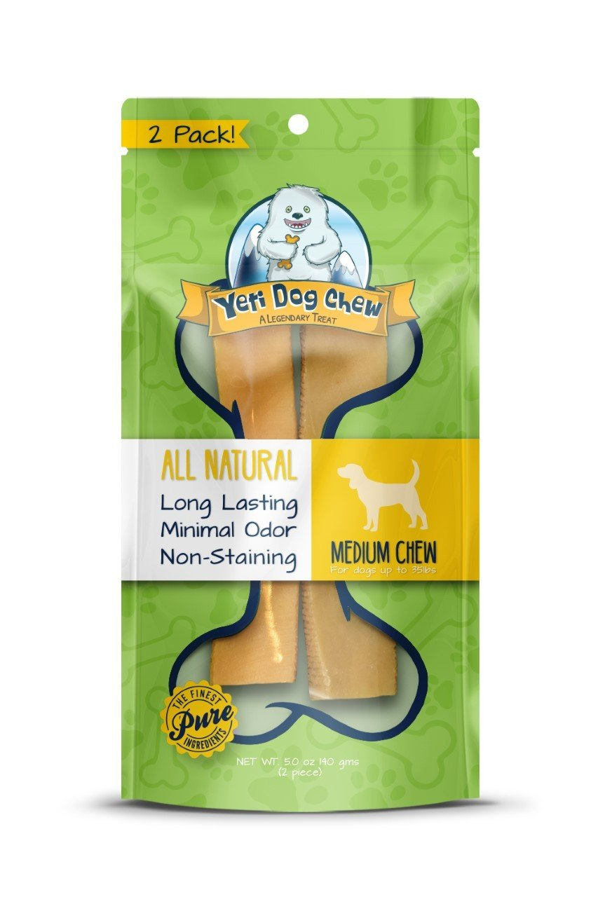 Yeti Dog Chew Himalayan Yak Chew Medium 2pcs 5oz
