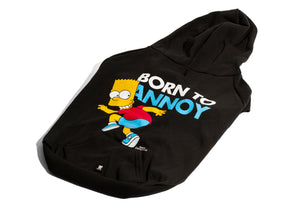 Bart Simpson Born to Annoy Hoodie