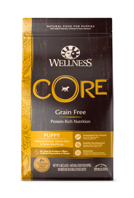 Wellness Core Grain Free - Puppy (4lb)