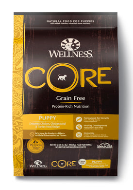 Wellness Core Grain Free - Puppy (12lb)