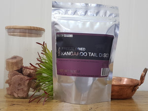 Freeze Dried Kangaroo Tail Discs