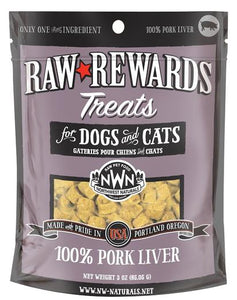 Northwest Naturals Freeze Dried Pork Liver Cat & Dog Treats - 3oz