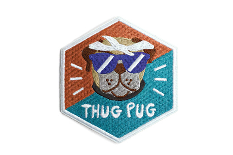 Thug Pug Patch
