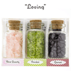 "Ask Your Pendulum - 3-Bottle set of polished, naturally energetic gemstones ""Loving"""