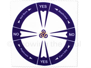 Yes/No Cloth Pendulum Chart